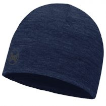 Buff Lightweight Merino Wool Hat Solid Denim téli sapka
