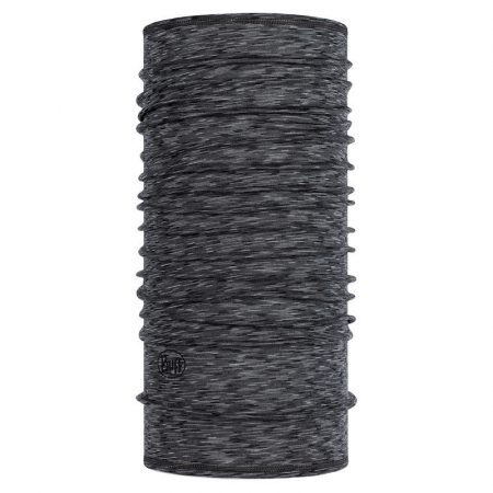 Buff Lightweight Merino Wool Graphite Multistripes csősál