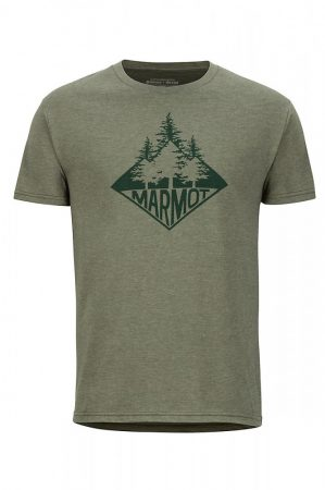Marmot Rising Forest rövidujjú póló