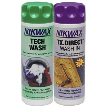 NIKWAX twin TECH wash/ TX.DIRECT wash in