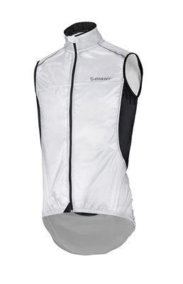 Giant Superlight Wind Vest kerékpáros mellény/fekete-fehér