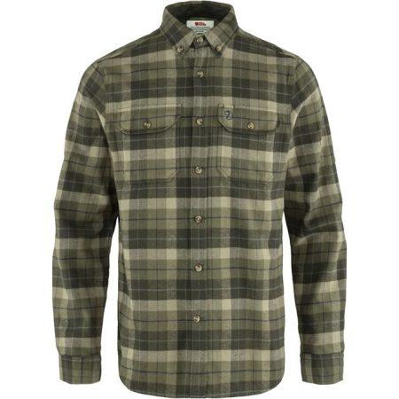 Fjallraven Singi Heavy Flannel Shirt M ing