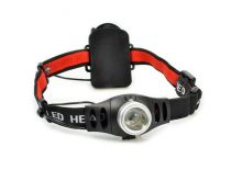 Solight LED fejlámpa , 3W Cree, 140lm, fokus 3xAAA